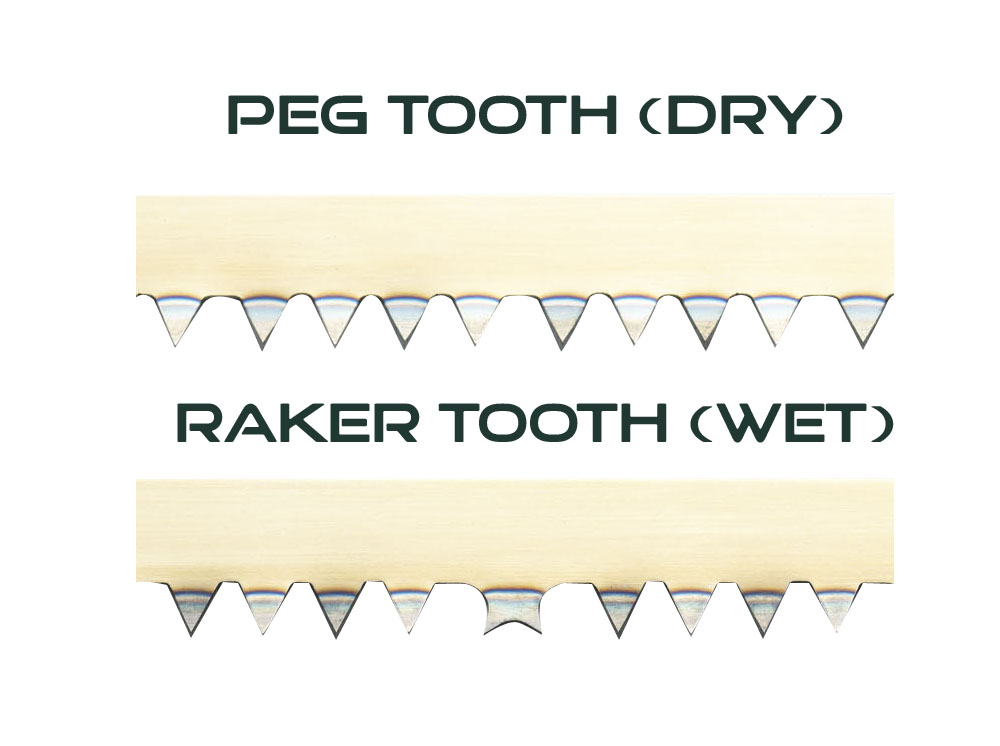 Bow Saw Tooth Types