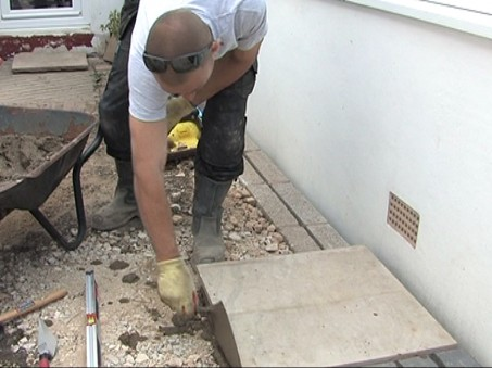 How To Lay Patio Slabs Laying Paving Spear Jackson