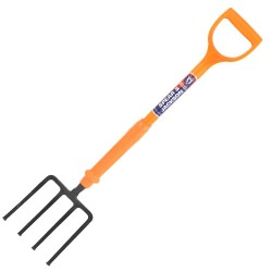 Insulated Contractors Fork - Short Tines
