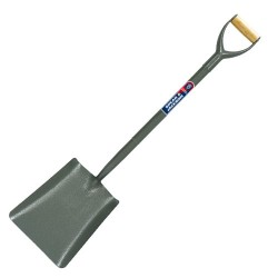 Tubular Steel Square Mouth No2 Shovel