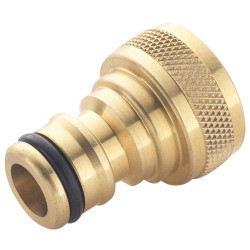 Brass Water Fitting - Female Threaded Tap Connector 5/8""