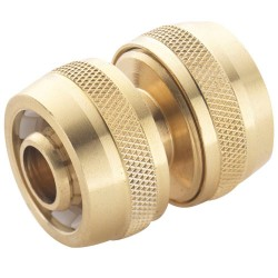 Brass Water Fitting - Hose Repairer 1/2""