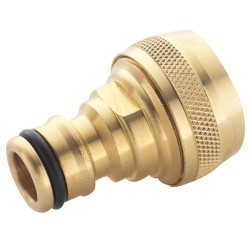 Brass Water Fitting - Male Hose Connector 1/2""