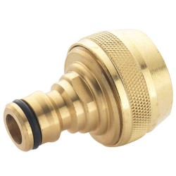 Brass Water Fitting - Male Hose Connector 3/4""
