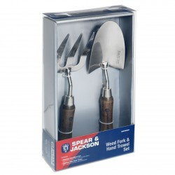 HANDTOOLSET1 Weed Fork and Hand Trowel Set
