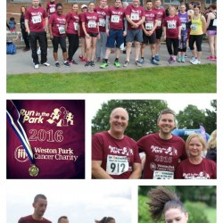 Team S&J Complete 'Run in the Park' for Weston Park Cancer Charity
