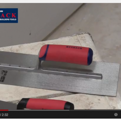 TYZACK Builders & Plasterers Tools Video