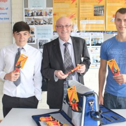 Tresham's Electrical Students of the Year