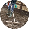 Spear & Jackson Wooden Hay Rake