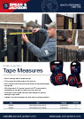 Tape Measures flyer