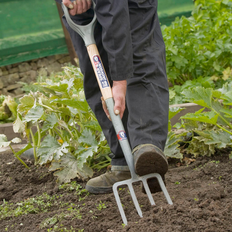 Spear /& Jackson Select Carbon Steel Soil Rake Durable Gardening Tool Heavy Duty